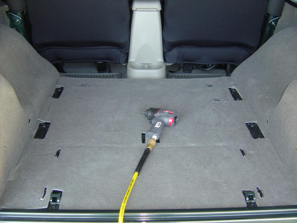 Tuffy Rear Storage Drawer Risers install Rubicon Owners Forum